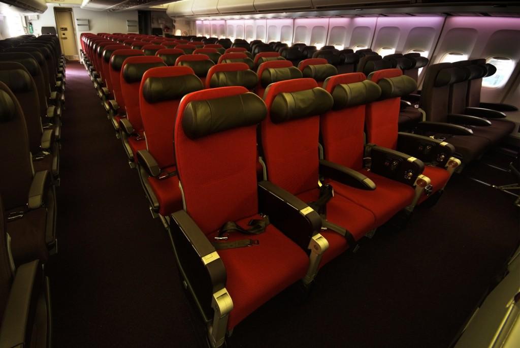 Virgin Atlantic Gatwick Refit