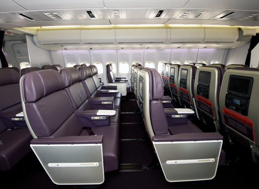 Compare Premium Economy Seating and Services