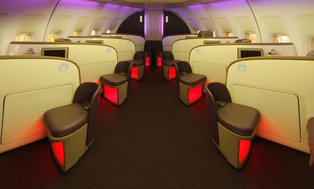 Virgin Atlantic Gatwick Refits
