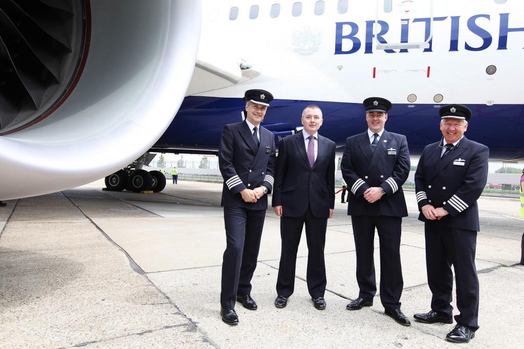 Willie Walsh and the British Airways787 Flight Crew