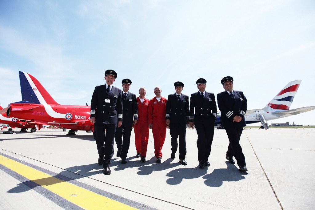 BA and Red Arrow pilots