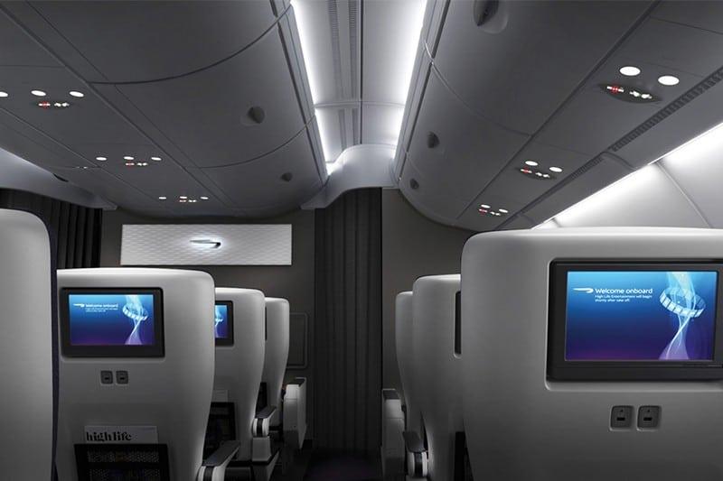 British Airways Airbus A380 World Traveller Plus Cabin Seats