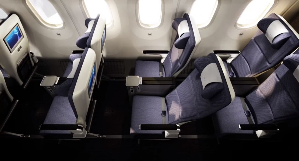 Compare Premium Economy Cabin Seating and Services