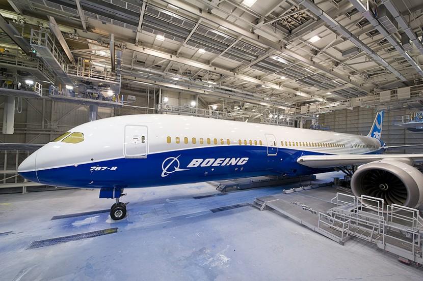 New look for Boeing 787-9 Dreamliner