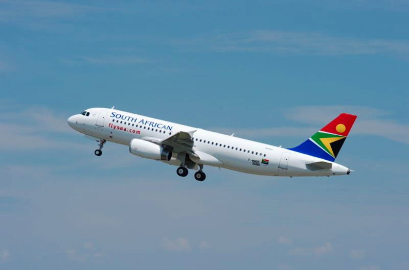 South African Airways (SAA) takes delivery of its first two Airbus A320 jets