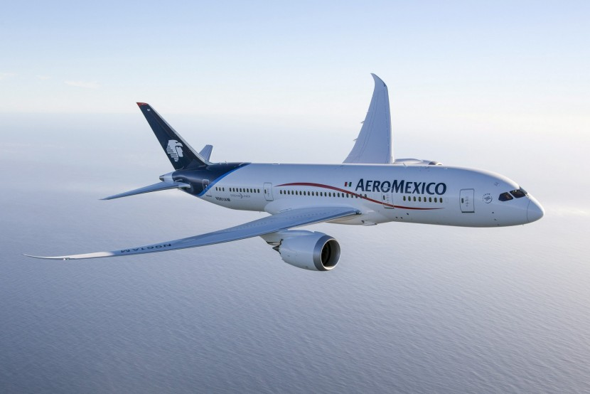 Boeing deliver first Aeromexico 787 Dreamliner