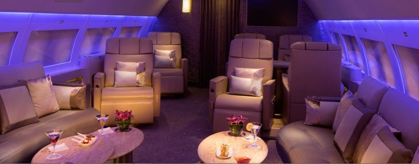 Emirates offer Executive Airbus A319 luxury private jet service