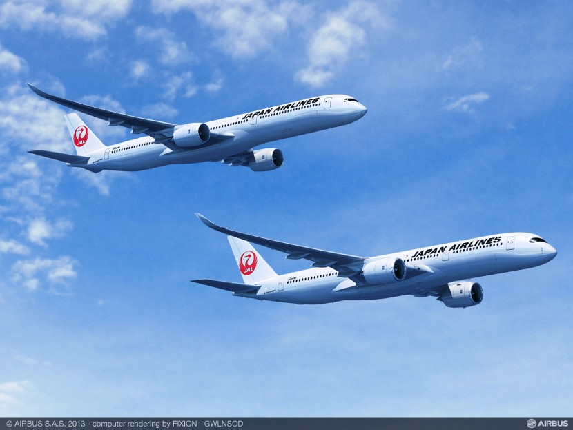 Japan Airlines JAL place first order with Airbus in $9.5bn A350 deal