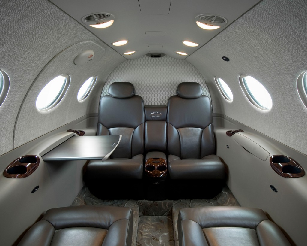 Cessna Citation Mustang cabin seating