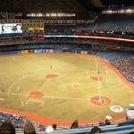 Take in a baseball game in Toronto