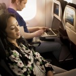 Air New Zealand Boeing 787-9 Economy Seat Reclined