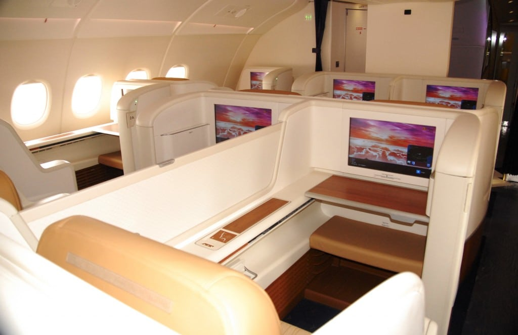 There are 12 Royal First Class seats on the Thai Airways A380