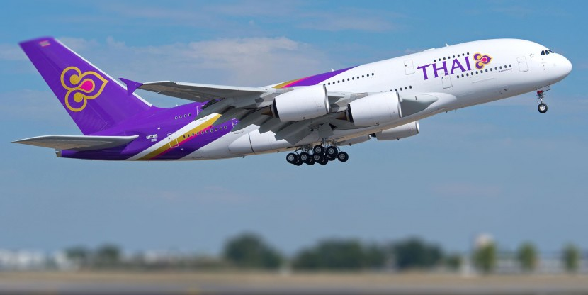 Video: Thai Airways collect their first Airbus A380
