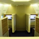 Thai Airways Boeing 747-400 Royal First Class Cabin