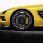 2014 SLS AMG Black Series carbon brakes