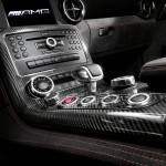 2014MY SLS AMG Black Series carbon fibre centre console
