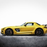 2014MY SLS AMG Black Series side view
