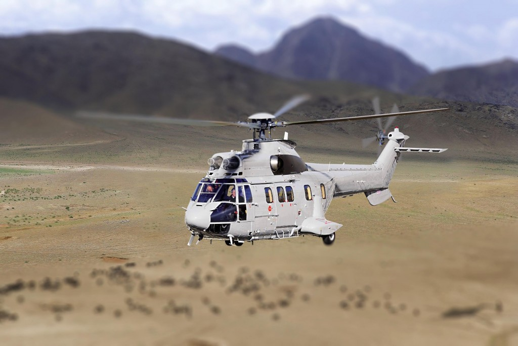The Bolivian Air Force order six Airbus Super Puma AS332 C1e helicopters