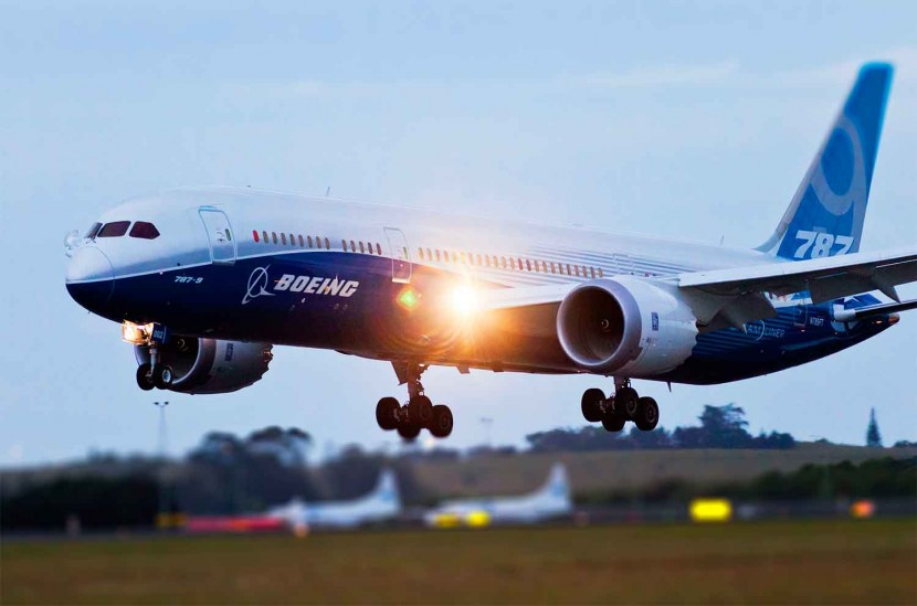 Boeing 787-9 arrives in Auckland as flight tests continue