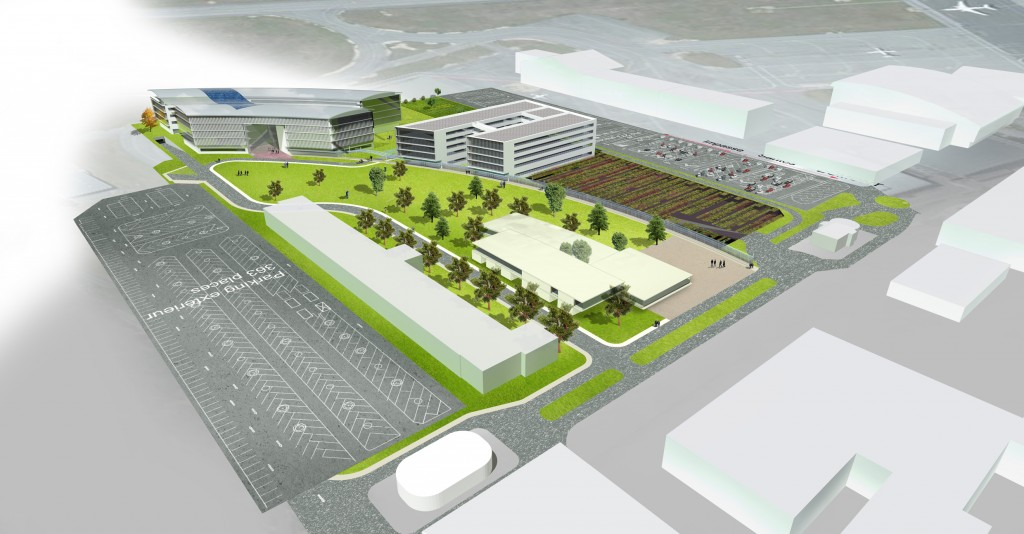 Construction starts on new Airbus office campus at Toulouse Airport