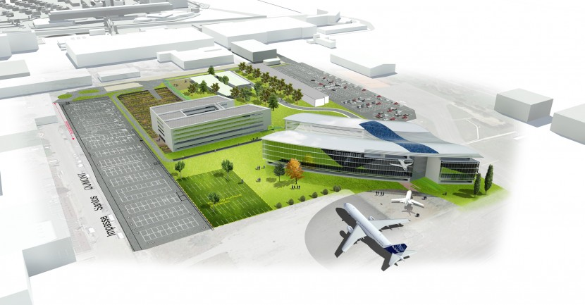Construction starts on new Airbus Group office campus at Toulouse