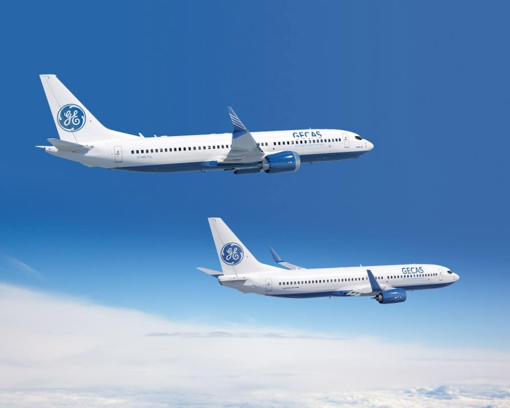 GECAS order for 20 737 MAX and 20 Next-Generation 737 aircraft