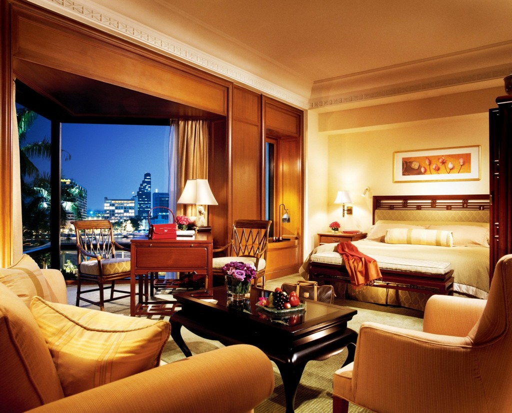 The Peninsula Bangkok Hotel Deluxe Room