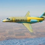 Cessna Citation Latitude Business Jet prototype -reaches maximum performance envelope during third flight test