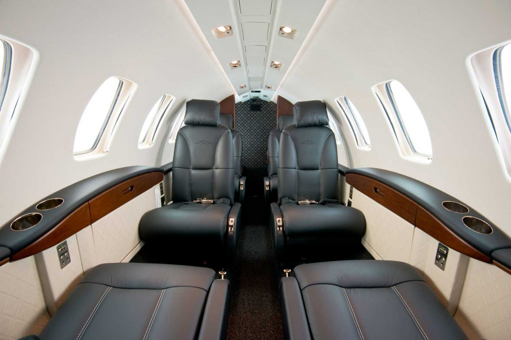 Cessna Alpine Edition Citation CJ2+ business jet cabin