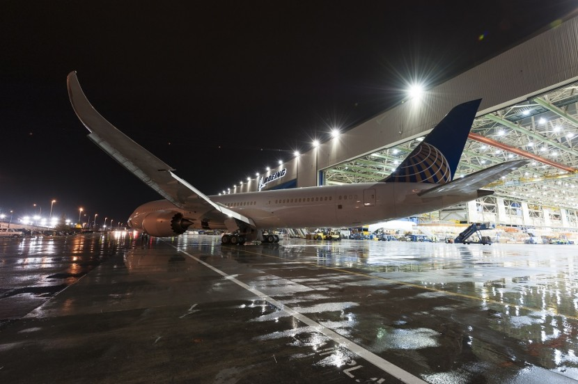 More Dreamliner news – United 787-9 leaves final assembly
