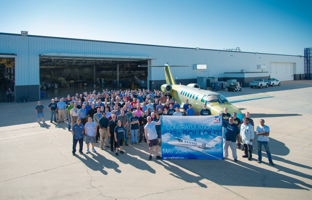 Cessna complete first production of new Citation CJ3+ business jet