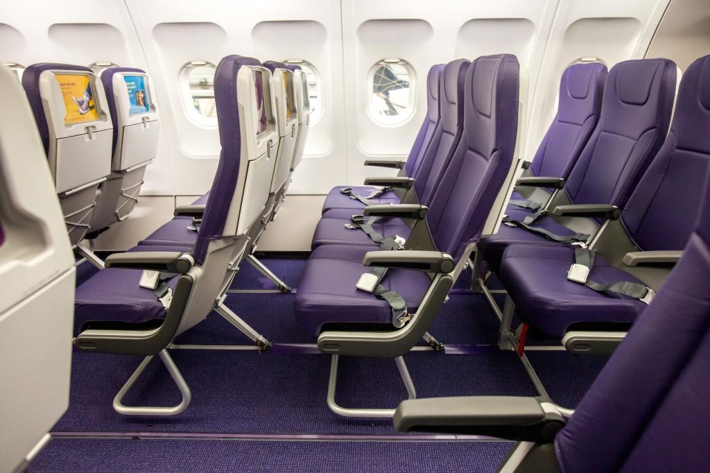 Monarch has new non-reclining cabin seats