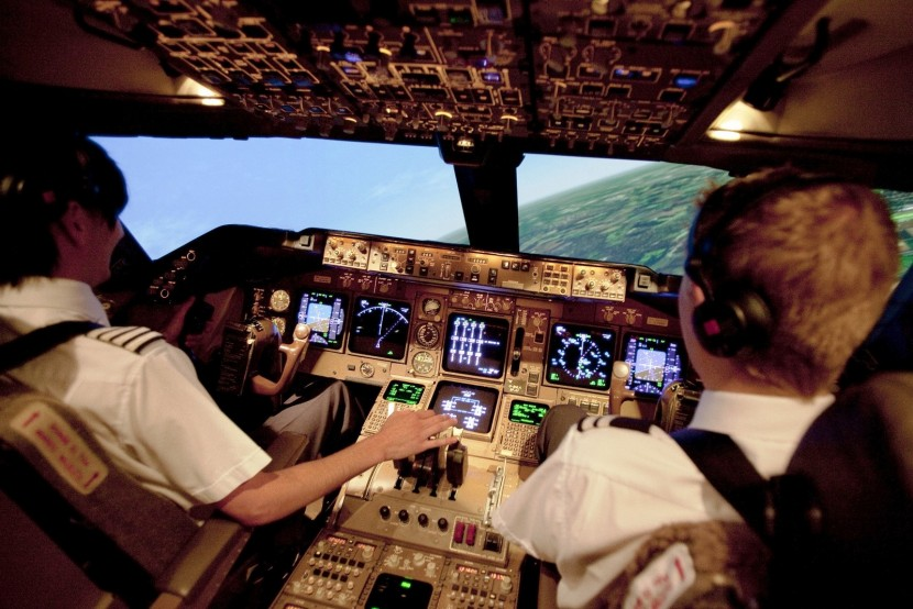 Take off with Father's Day full motion flight simulator gift voucher