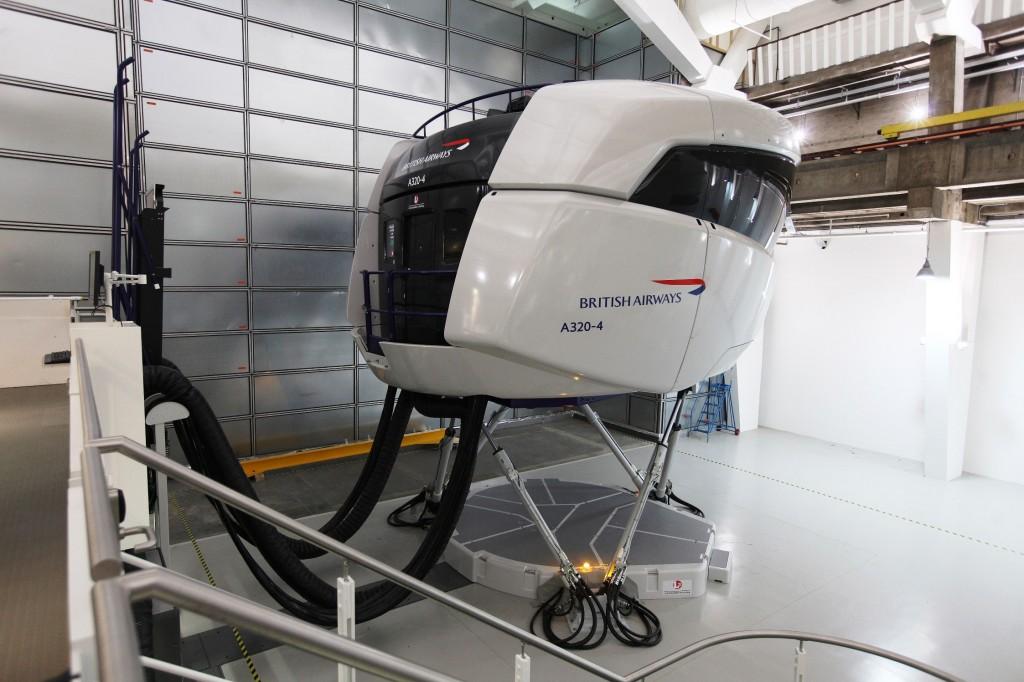 British Airways Flight Simulator
