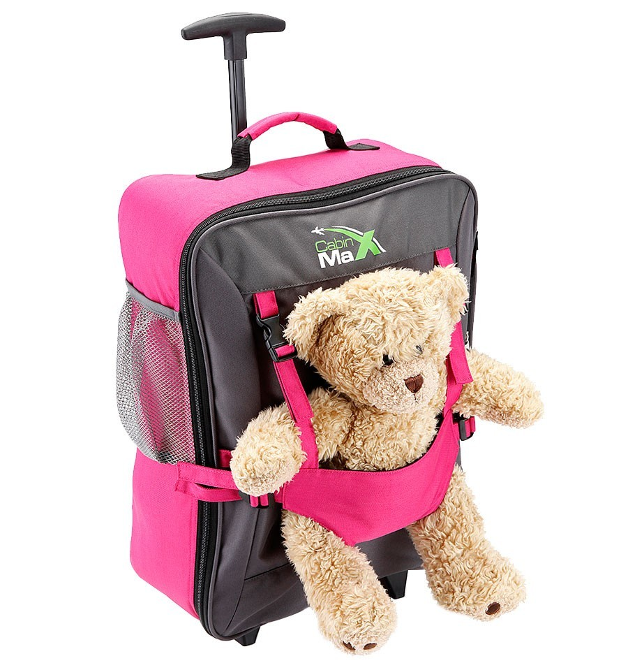 Kid's Luggage - Bear Bag ideal hand luggage for children