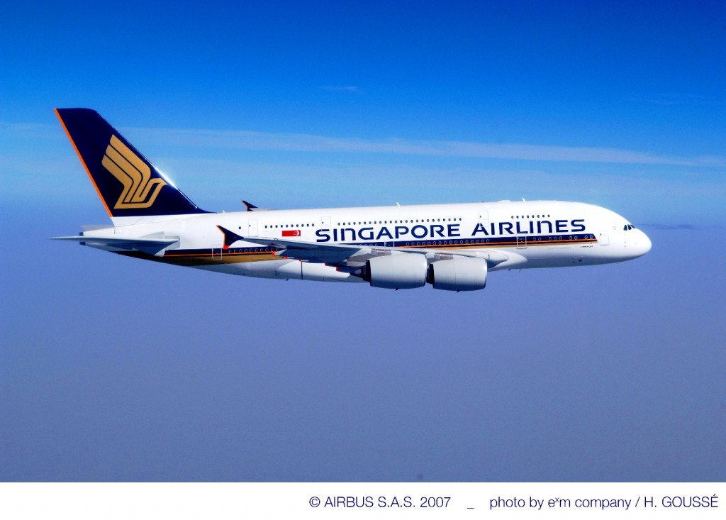 Singapore Airlines to use A380 on Beijing flights