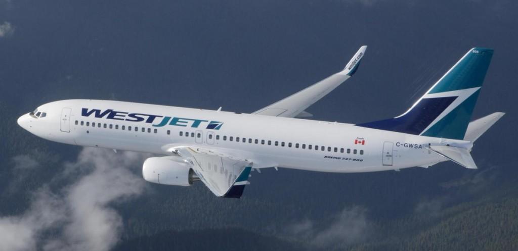 WestJet Boeing 737-700 on Toronto Dublin route