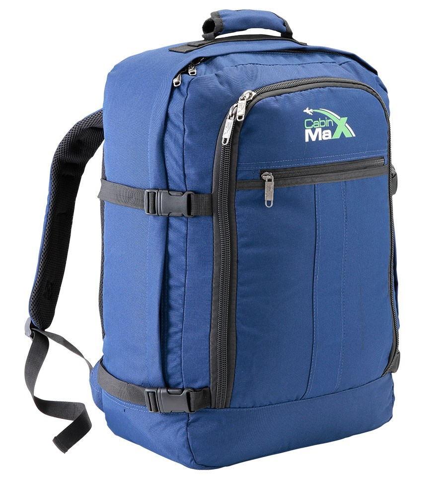 74bcf8bb0438 Blue Backpack Hand Luggage