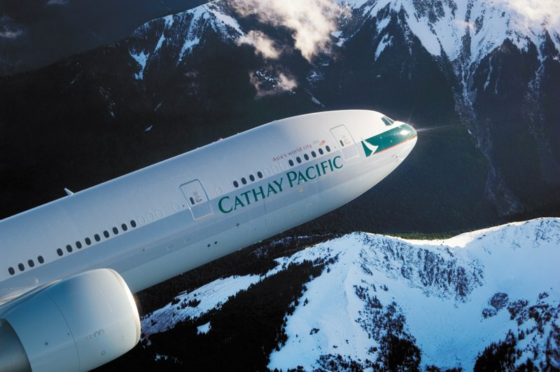Cathay Pacific eEnabled Aircraft includes Boeing 777-300ER