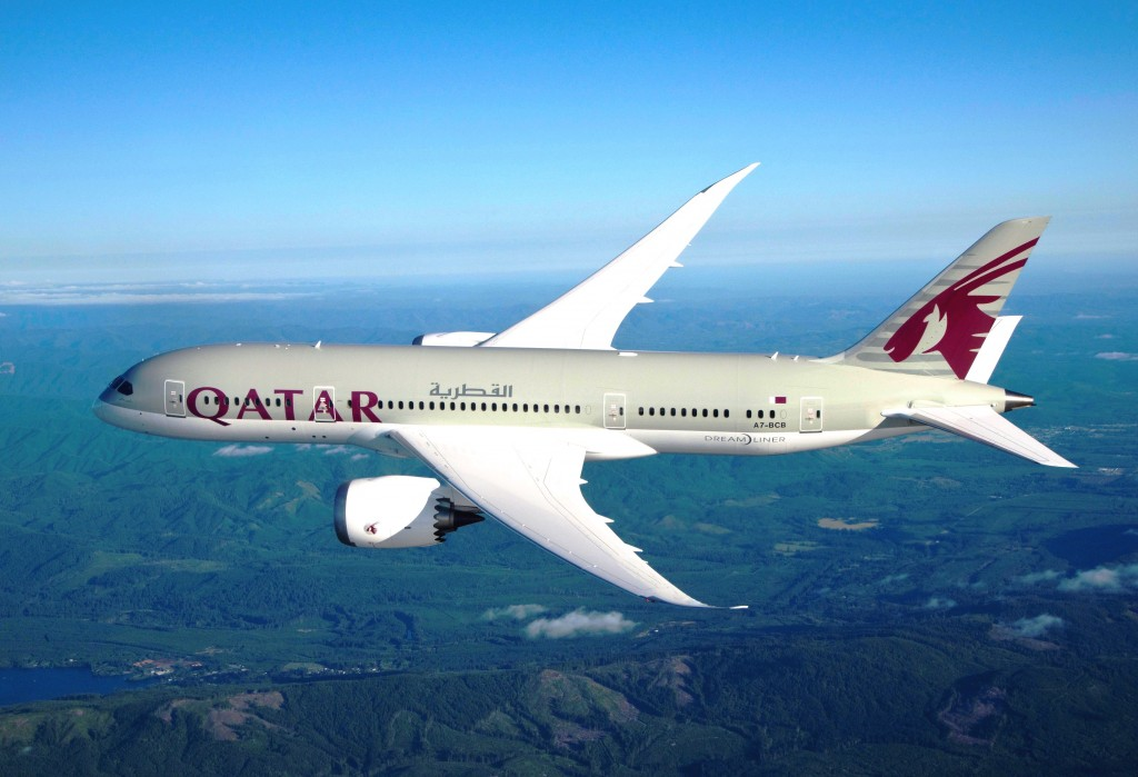 Qatar Airways' 787-800