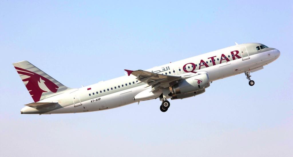 Qatar Airways' Airbus A320