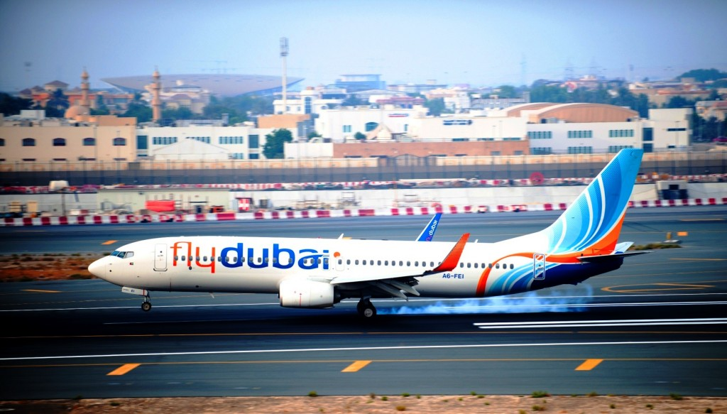 flydubai lands at Dubai International as  airport reopens upgraded northern runway