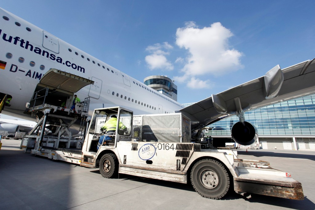 Airside at Frankfurt Airport (Photo: Fraport AG).