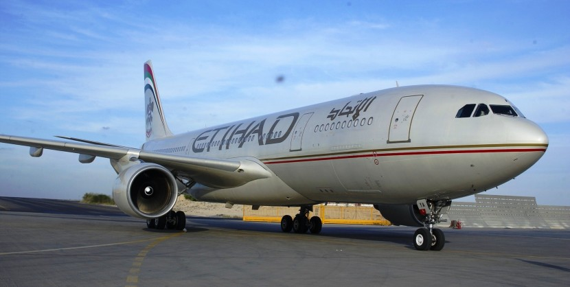 Etihad Airways change flights between Abu Dhabi and Johannesburg