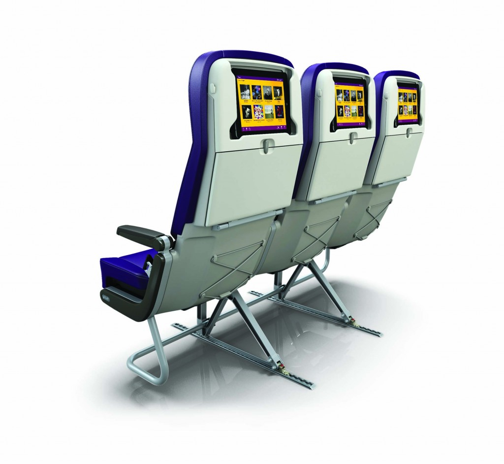 Monarch Tablet Seat Back