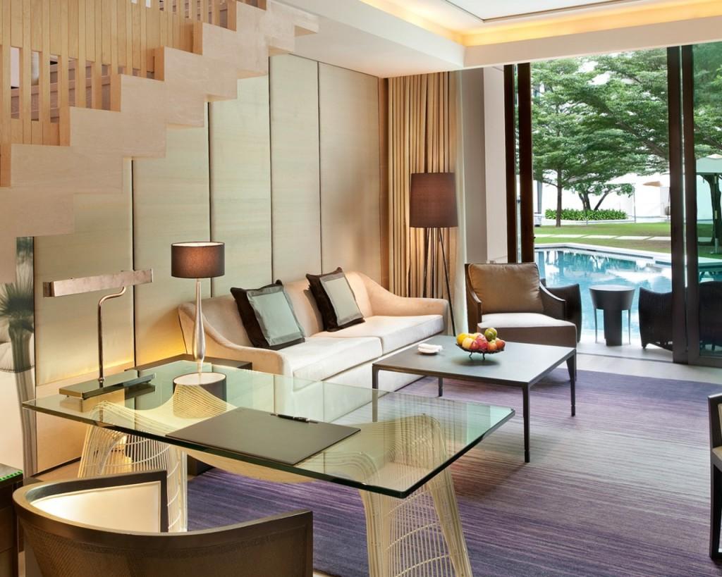 Siam Kempinski Hotel Bangkok Duplex Living