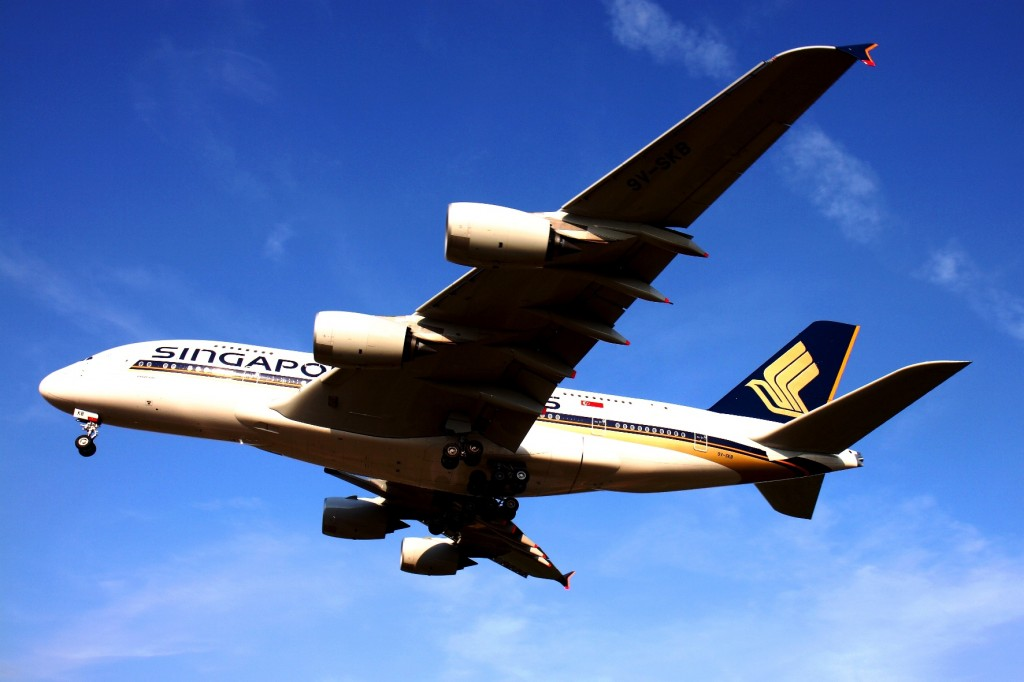 Singapore Airlines A380 to fly to New Zealand