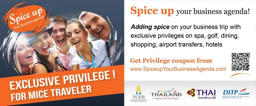 Spice up your conference or exhibition – head to Thailand