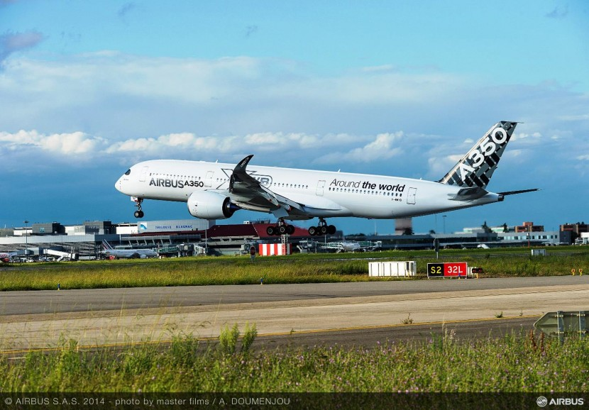 The A350 XWB takes on the world