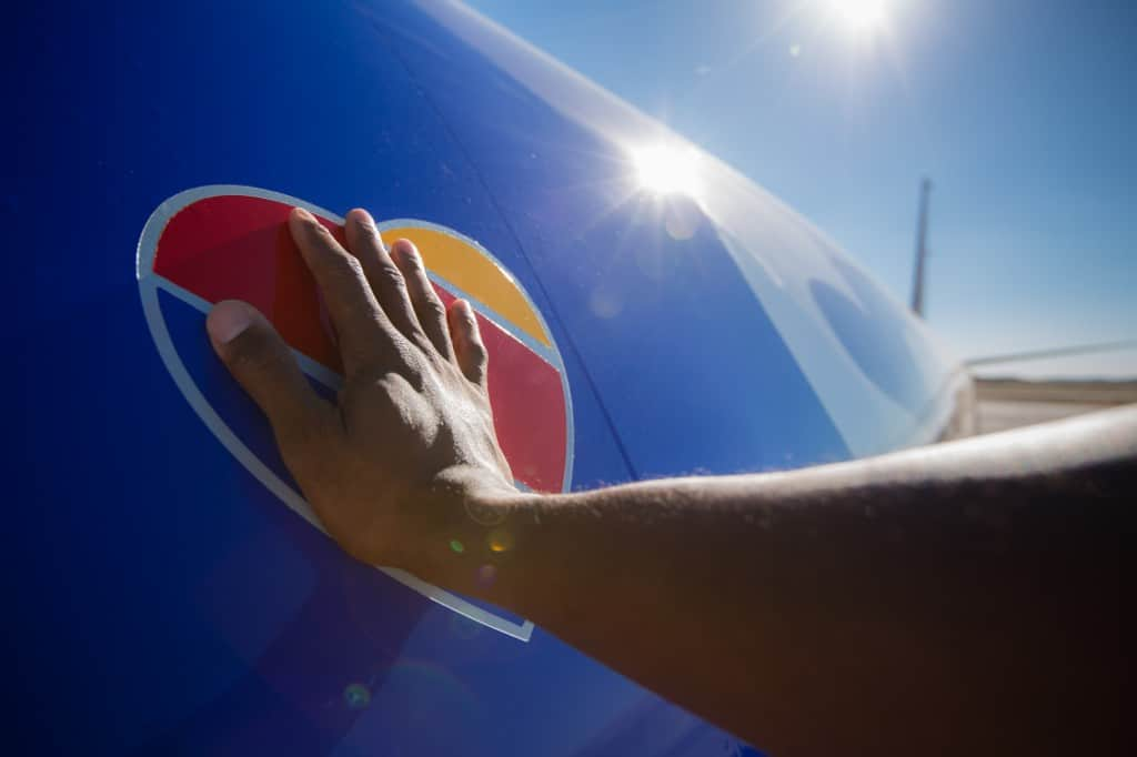Hand on Heart - Southwest Airlines